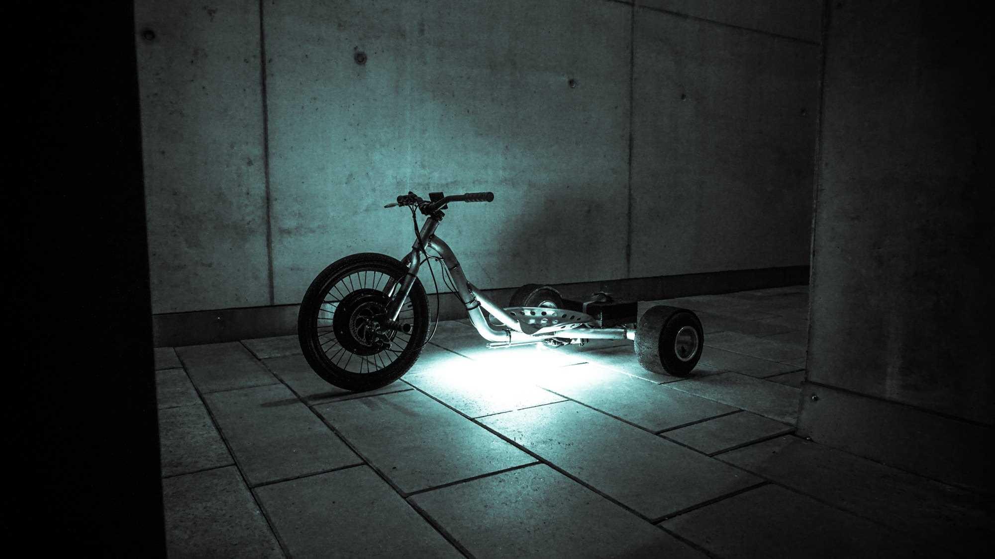 2kw electric drift trike