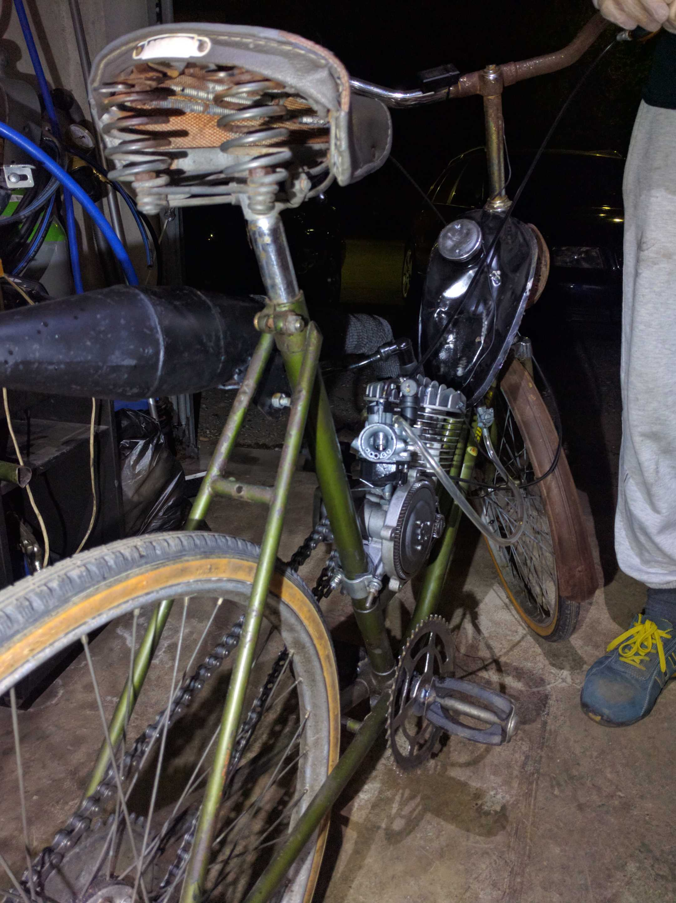 Moped Riga – made in china