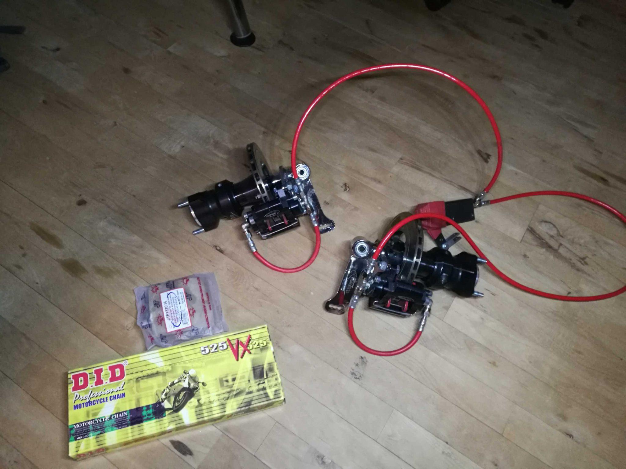 200HP Go-kart build - Āķis