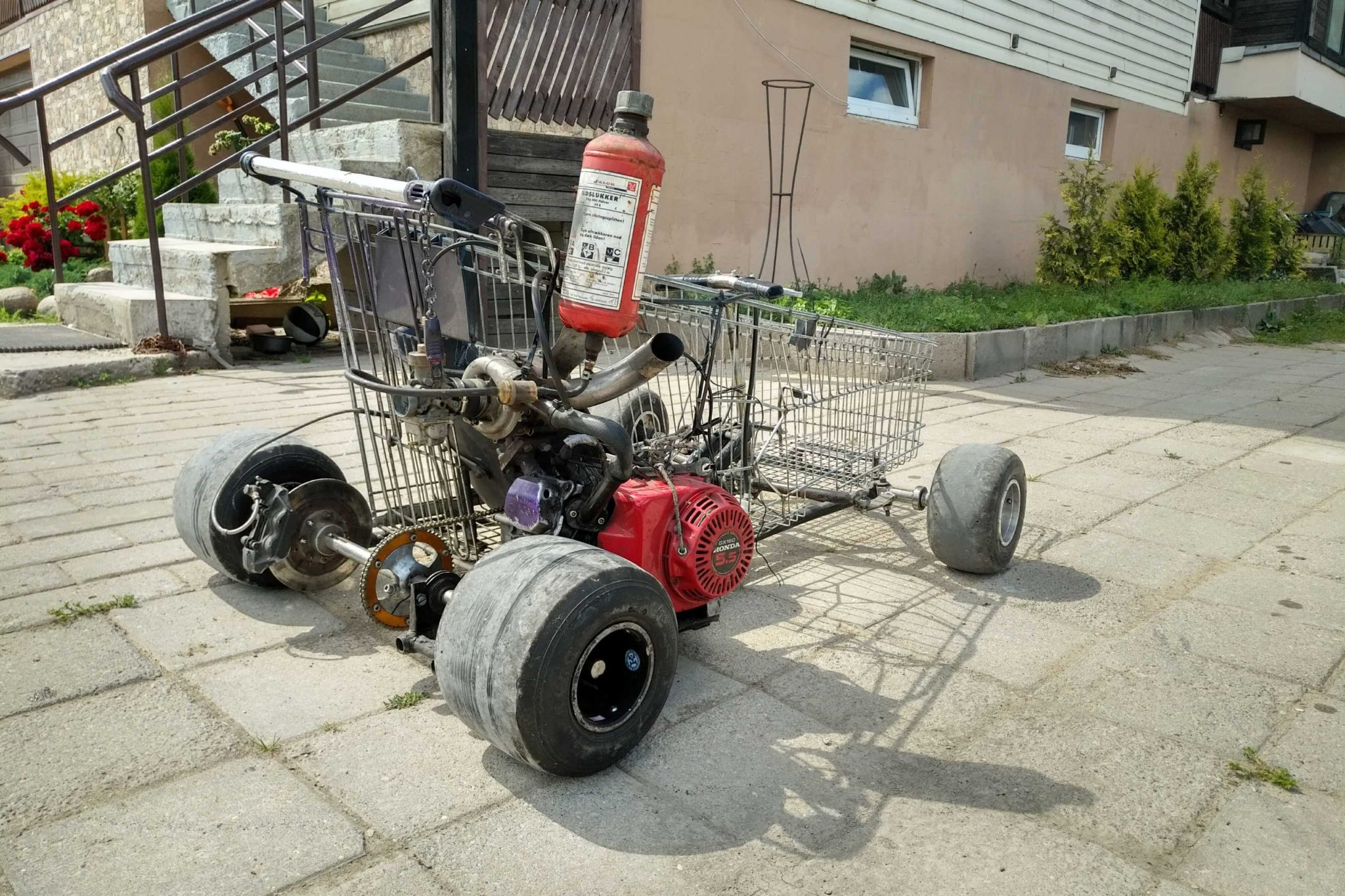 Turbo Shopping Kart